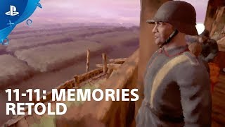11-11: Memories Retold - Gameplay Preview with Elijah Wood | PlayStation Live From E3 2018
