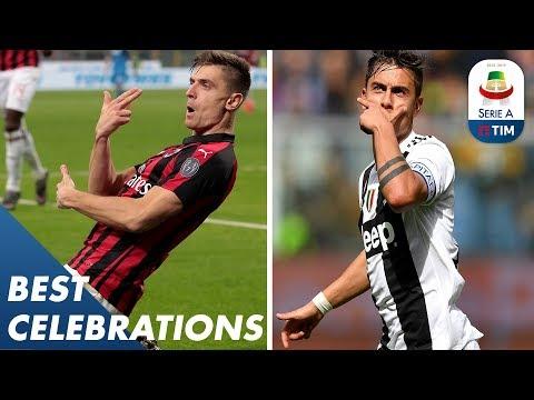 The Dybala Mask or Piątek's Pistolero?   Best Celebrations of the Season    Serie A