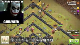 Back on Clash of Clans! Barch Attacks and Owning People in War!