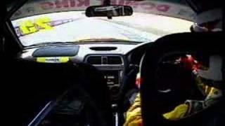 Subaru WRX Lap of Bathurst in car video