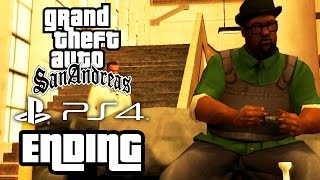Grand Theft Auto San Andreas ENDING PS4 Gameplay Walkthrough - FINAL MISSION / END OF THE LINE