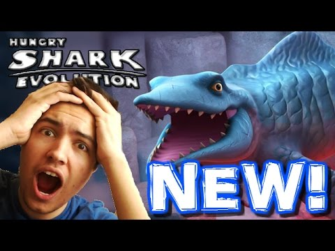 BRAND NEW SHARK! MR SNAPPY! - Hungry Shark Evolution Update - New Shark First Gameplay!
