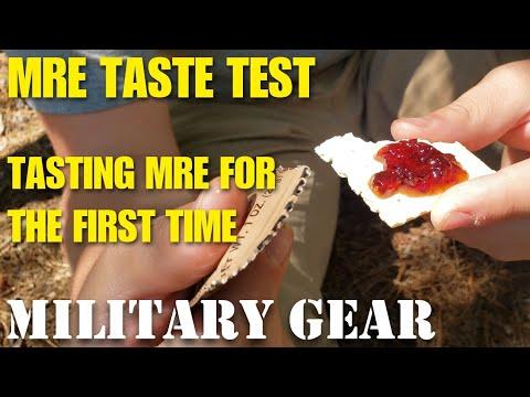 ALICE Pack hiking and MRE taste test