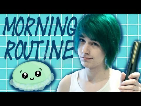 My Morning Routine Hair Tutorial By Aquamarin