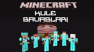 Minecraft: Kule Savaşları #Bölüm 1# Berabere !! w/Tarafsız Oyuncu, Vegas Gaming, BreafGaming
