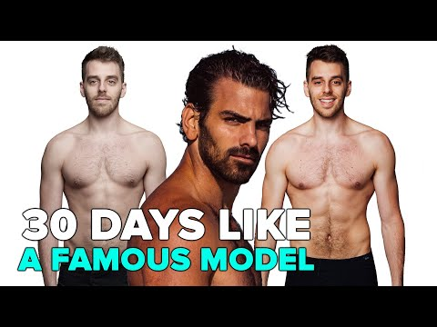 I Trained Like A Famous Model For 30 Days