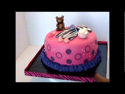 Slumber Party Cake.wmv - YouTube