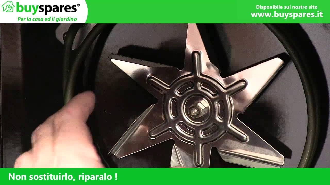 Come Sostituire Il Motore Della Ventola In Un Forno Youtube