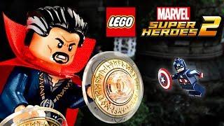 Замок на замок   LEGO MARVEL SUPER HEROES 2 прохождение на русском   Часть 4