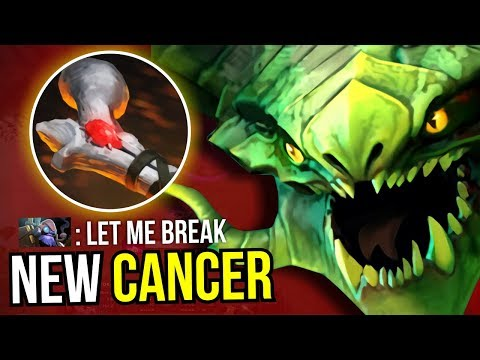 NEW CANCER - Viper Rot of Atos + Radiance New Meta 7.07 Dota 2 | Upside Down #25