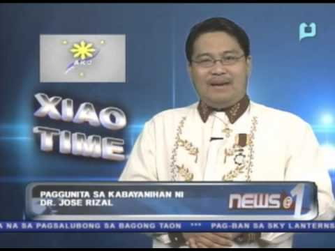 Xiao Time: Paggunita sa kabayanihan ni Dr. Jose Rizal