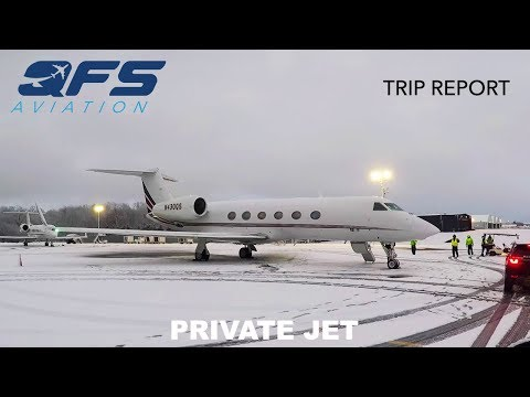 TRIP REPORT | NetJets - Gulfstream G450 - White Plains (HPN)