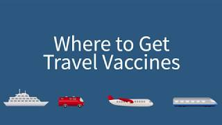 Travel Vaccines