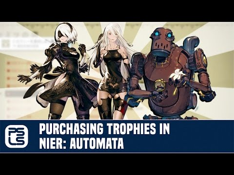 Trophy Theory - Purchasing Trophies in Nier: Automata