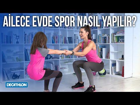 Ailece Evde Spor Nasıl Yapılır? - Decathlon Türkiye