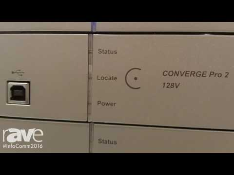 InfoComm 2016: ClearOne Showcases Converge Pro 2 System