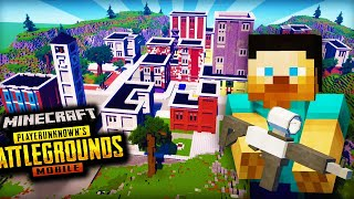 I Played Banned PUBG In Minecraft !!