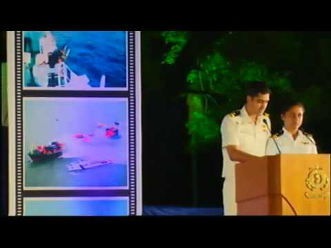 "CM attends celebrations of ""Coast Guard Day"" at Gandhinagar"