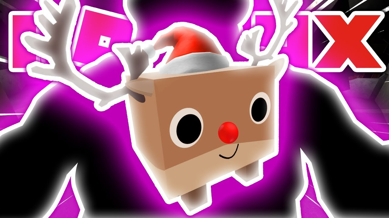 SOMEONE *STOLE* MY *RAREST* GIANT RUDOLPH PET IN ROBLOX PET SIMULATOR!! [UPDATE 15] (giveaway)