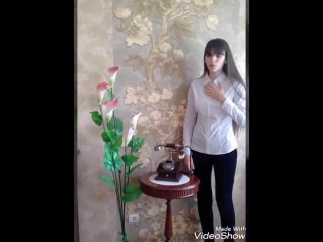 Изображение предпросмотра прочтения – СнежанаСарычева читает произведение «Послушайте! (Послушайте! Ведь, если звезды зажигают…)» В.В.Маяковского