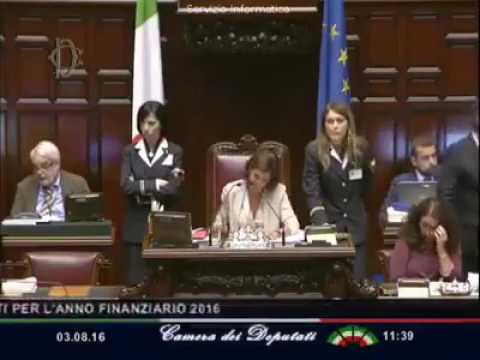 Camera dei deputati la reazione shok della boldrini youtube for Tv camera deputati