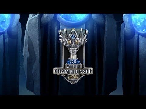 Cloud9 (C9) vs Fnatic (FNC)  - Worlds 2018 Yarı Final