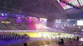Display Band & Colorguard @ Youth Celebrate SG50