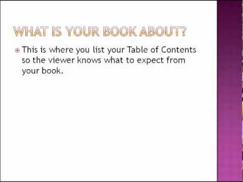 powerpoint book presentation youtube