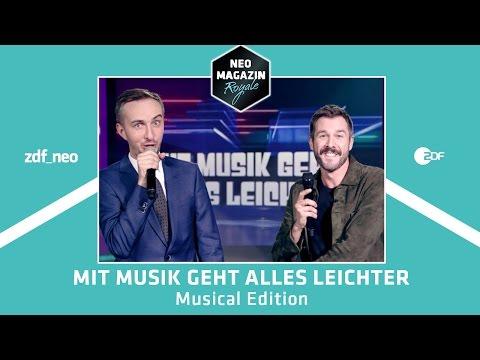 Mit Musik geht alles leichter - Musical Edition mit Jochen Schropp | NEO MAGAZIN ROYALE