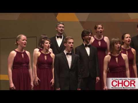 Collegium Musicum Berlin: Christus factus est, INTERN. KAMMERCHOR-WETTBEWERB MARKTOBERDORF 2017
