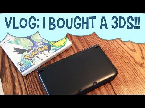 Vlog   I Bought a 3DS!!   Life of a Freelance Illustrator