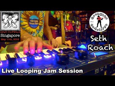 Cronkite Satellite & Seth Roach [Live Looping Jam #2] Singapore