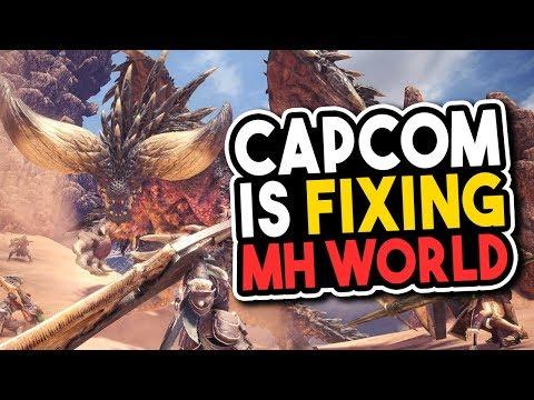 Capcom is Fixing Monster Hunter World