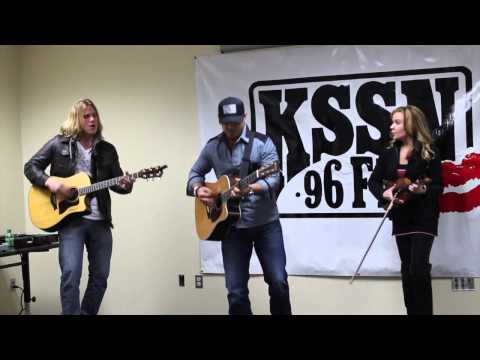 Weston visits with KSSN 96 in Little Rock, Arkansas