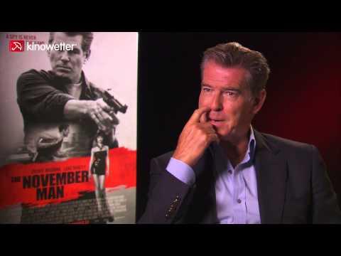 Interview Pierce Brosnan THE NOVEMBER MAN