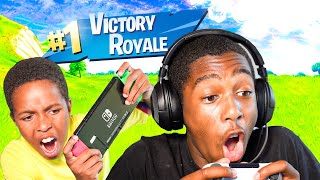 IS ROMELLO TRASH ON PS4 FORTNITE? DUOS WITH TEKKERZ KID MTG GAMING!