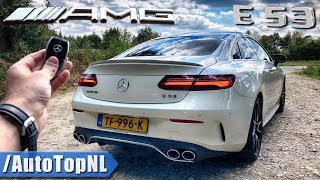 2019 Mercedes E53 AMG Coupe REVIEW POV Test Drive on Autobahn & Road by AutoTopNL