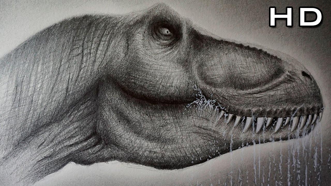 cómo dibujar un tiranosaurio rex realista paso a paso cómo dibujar