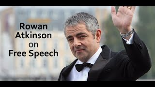 Rowan Atkinson on Free Speech