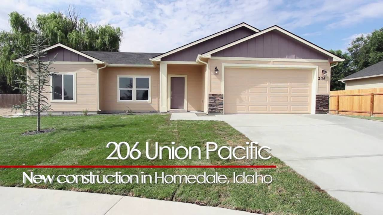 Homedale idaho new construction homes boise video art for Building a house in idaho