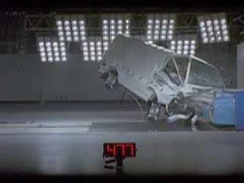 Mitsubishi Express Crash Test 1 Star Ancap Rating Youtube