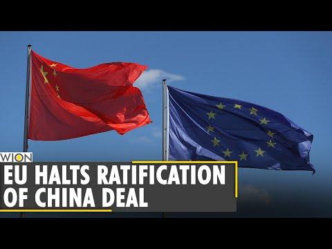 European Union Parliament halts ratification of China deal | Latest World English News | WION News