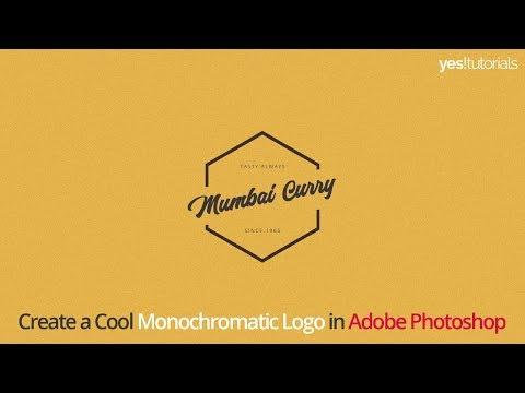 Adobe Photoshop Tutorial - How to create a Simple & Minimal yet Professional Hexagon Logo thumbnail