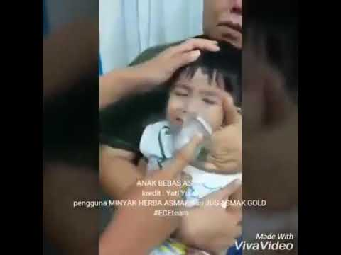 Kesiannya bila anak kena Asma ni 😭