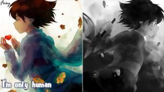 「Nightcore」→ Human/Jar Of Hearts (Switching Vocals) MASHUP || Undertale