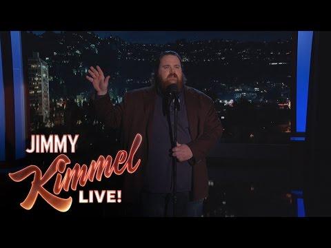 Comedian K. Trevor Wilson Performs Stand-up