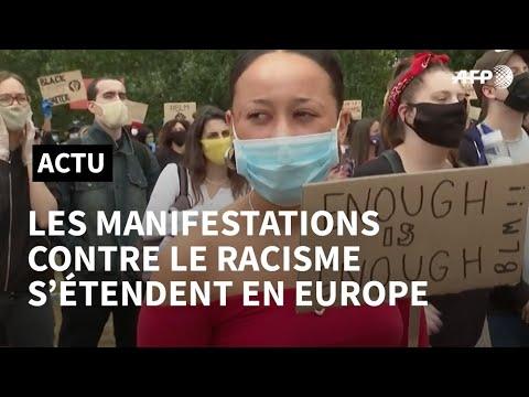 Mort de George Floyd: les manifestations se multiplient en Europe | AFP