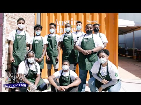 In One Chicago Food Desert, High Schoolers Take Bold Action | Nightly News: Kids Edition