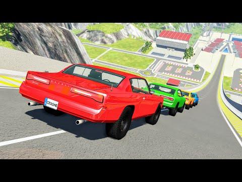 Epic High Speed Jumps #111 – BeamNG Drive | CrashBoomPunk