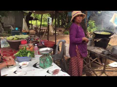 Village Food Factory, Cambodian Traditional Food, Top Food, Popular Food In My Country